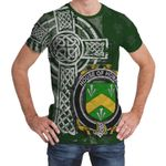 Irish Family, Homan or Howman Family Crest Unisex T-Shirt Th45