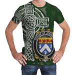 Irish Family, Jennings or Jennyns Family Crest Unisex T-Shirt Th45