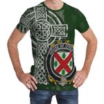 Irish Family, Keating or O'Keaty Family Crest Unisex T-Shirt Th45