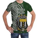 Irish Family, Kelleher or O'Kelleher Family Crest Unisex T-Shirt Th45