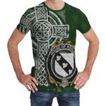 Irish Family, Kenley Family Crest Unisex T-Shirt Th45