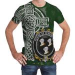 Irish Family, Kennedy or O'Kennedy Family Crest Unisex T-Shirt Th45
