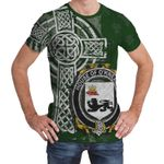 Irish Family, Kennelly or O'Kineally Family Crest Unisex T-Shirt Th45