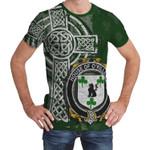 Irish Family, Killeen or O'Killeen Family Crest Unisex T-Shirt Th45