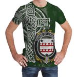 Irish Family, Kinnane or O'Kinane Family Crest Unisex T-Shirt Th45
