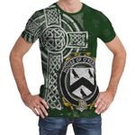 Irish Family, Kirwan or O'Kerwin Family Crest Unisex T-Shirt Th45