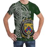 Irish Family, Lany or Laney Family Crest Unisex T-Shirt Th45