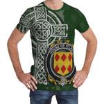 Irish Family, Lavin or O'Lavin Family Crest Unisex T-Shirt Th45