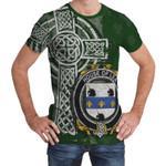 Irish Family, Lea or McLea Family Crest Unisex T-Shirt Th45