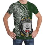 Irish Family, Leary or O'Leary Family Crest Unisex T-Shirt Th45