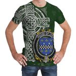 Irish Family, Lees or McAleese Family Crest Unisex T-Shirt Th45