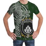 Irish Family, Looney or O'Lunney Family Crest Unisex T-Shirt Th45