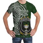Irish Family, Lowry or Lavery Family Crest Unisex T-Shirt Th45