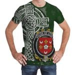 Irish Family, Lydon or Leyden Family Crest Unisex T-Shirt Th45
