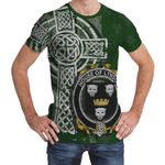 Irish Family, Lyndon or Gindon Family Crest Unisex T-Shirt Th45