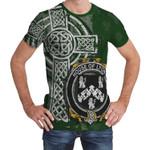 Irish Family, Lyons or Lyne Family Crest Unisex T-Shirt Th45