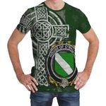 Irish Family, Mallin or O'Mallan Family Crest Unisex T-Shirt Th45