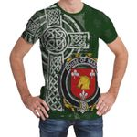 Irish Family, Marsh Family Crest Unisex T-Shirt Th45