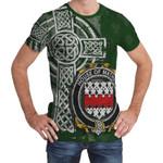 Irish Family, Mather or Mathers Family Crest Unisex T-Shirt Th45