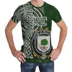 Irish Family, McCluskie or McCloskie Family Crest Unisex T-Shirt Th45