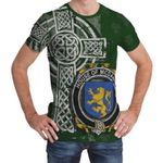 Irish Family, McDaniel or Daniel Family Crest Unisex T-Shirt Th45