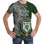 Irish Family, McGarry or Garry Family Crest Unisex T-Shirt Th45