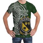 Irish Family, McGeough or McGough Family Crest Unisex T-Shirt Th45