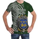 Irish Family, McGovern or McGauran Family Crest Unisex T-Shirt Th45
