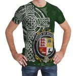 Irish Family, McGrath or McGraw Family Crest Unisex T-Shirt Th45