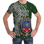 Irish Family, McLoughlin or Loughlin Family Crest Unisex T-Shirt Th45