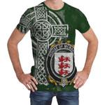 Irish Family, McMahon or McMahan Family Crest Unisex T-Shirt Th45