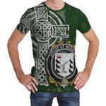 Irish Family, McNally Family Crest Unisex T-Shirt Th45