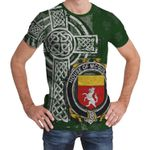Irish Family, McQuillan Family Crest Unisex T-Shirt Th45