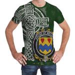 Irish Family, Mecham Family Crest Unisex T-Shirt Th45