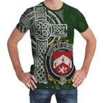 Irish Family, Meehan or O'Meighan Family Crest Unisex T-Shirt Th45