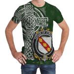 Irish Family, Merry or O'Merry Family Crest Unisex T-Shirt Th45