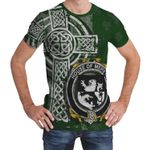 Irish Family, Mervyn Family Crest Unisex T-Shirt Th45
