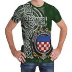 Irish Family, Micklethwait Family Crest Unisex T-Shirt Th45