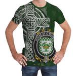 Irish Family, Mooney or O'Mooney Family Crest Unisex T-Shirt Th45