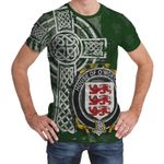 Irish Family, Mortagh or O'Mortagh Family Crest Unisex T-Shirt Th45