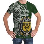 Irish Family, Mortimer Family Crest Unisex T-Shirt Th45