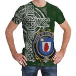 Irish Family, Mulrony or O'Mulroney Family Crest Unisex T-Shirt Th45