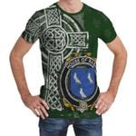 Irish Family, Nash or Naish Family Crest Unisex T-Shirt Th45