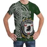 Irish Family, Newcomen or Newcombe Family Crest Unisex T-Shirt Th45