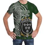 Irish Family, Penne or Penn Family Crest Unisex T-Shirt Th45