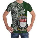Irish Family, Perceval Family Crest Unisex T-Shirt Th45