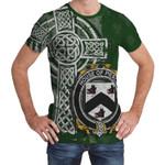 Irish Family, Pierce Family Crest Unisex T-Shirt Th45