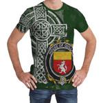 Irish Family, Quillan or McQuillan Family Crest Unisex T-Shirt Th45