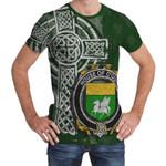 Irish Family, Quinn or O'Quin Family Crest Unisex T-Shirt Th45