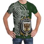 Irish Family, Reidy or O'Reidy Family Crest Unisex T-Shirt Th45